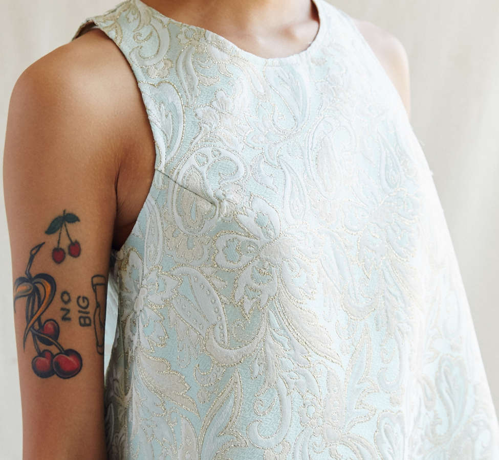 Slide View: 3: Urban Renewal Recycled Brocade Swing Dress