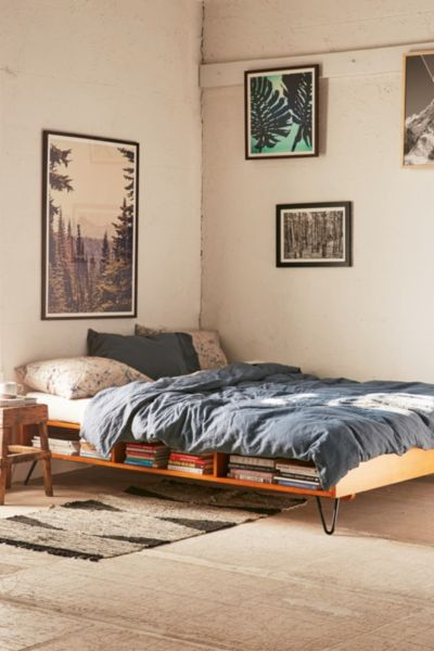border storage platform bed urban outfitters