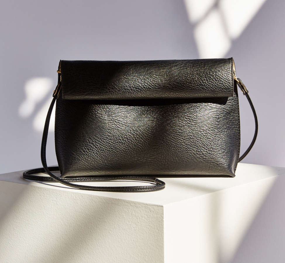 Slide View: 2: Silence + Noise Roll Clutch Crossbody Bag