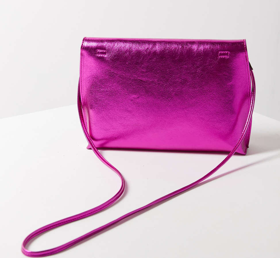 Slide View: 6: Silence + Noise Roll Clutch Crossbody Bag