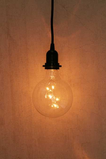 Oversized Edison Light Bulb