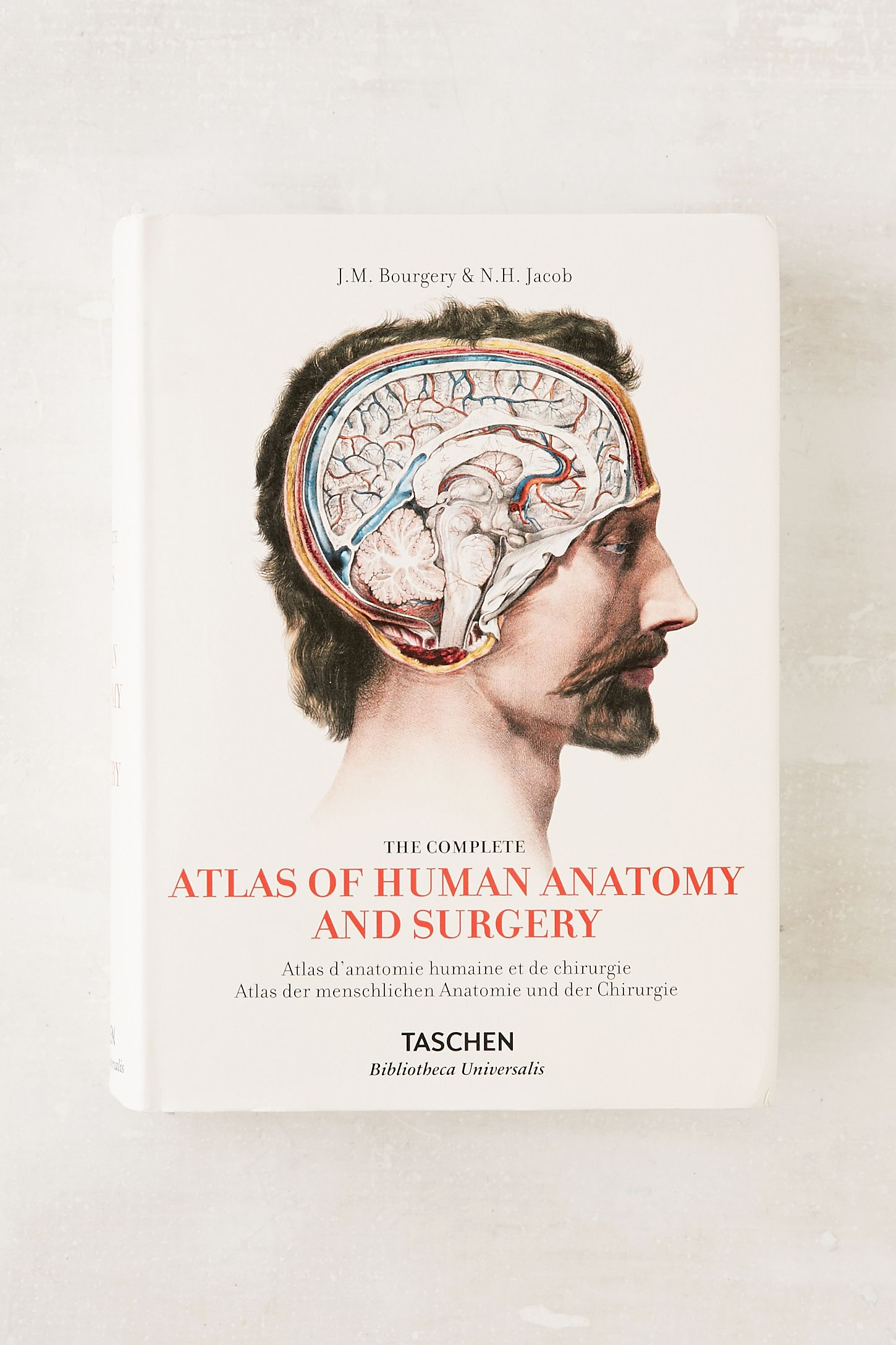 The Complete Atlas Of Human Anatomy And Surgery By Jean-Marie Le ...