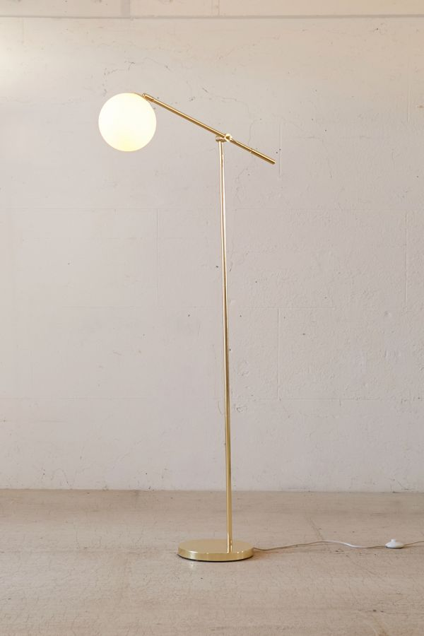 Globe floor lamp urban outfitters aloadofball Images