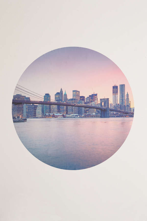 New York City Wall Decal Urban Outfitters - New york wall decals