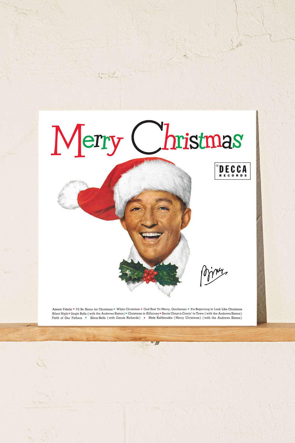 Bing Crosby Merry Christmas Lp