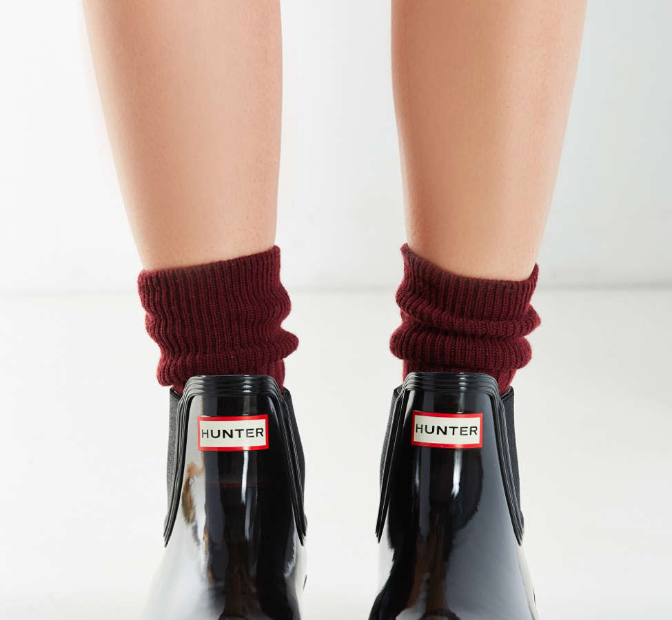 Slide View: 4: Hunter Original Chelsea Glossy Rain Boot
