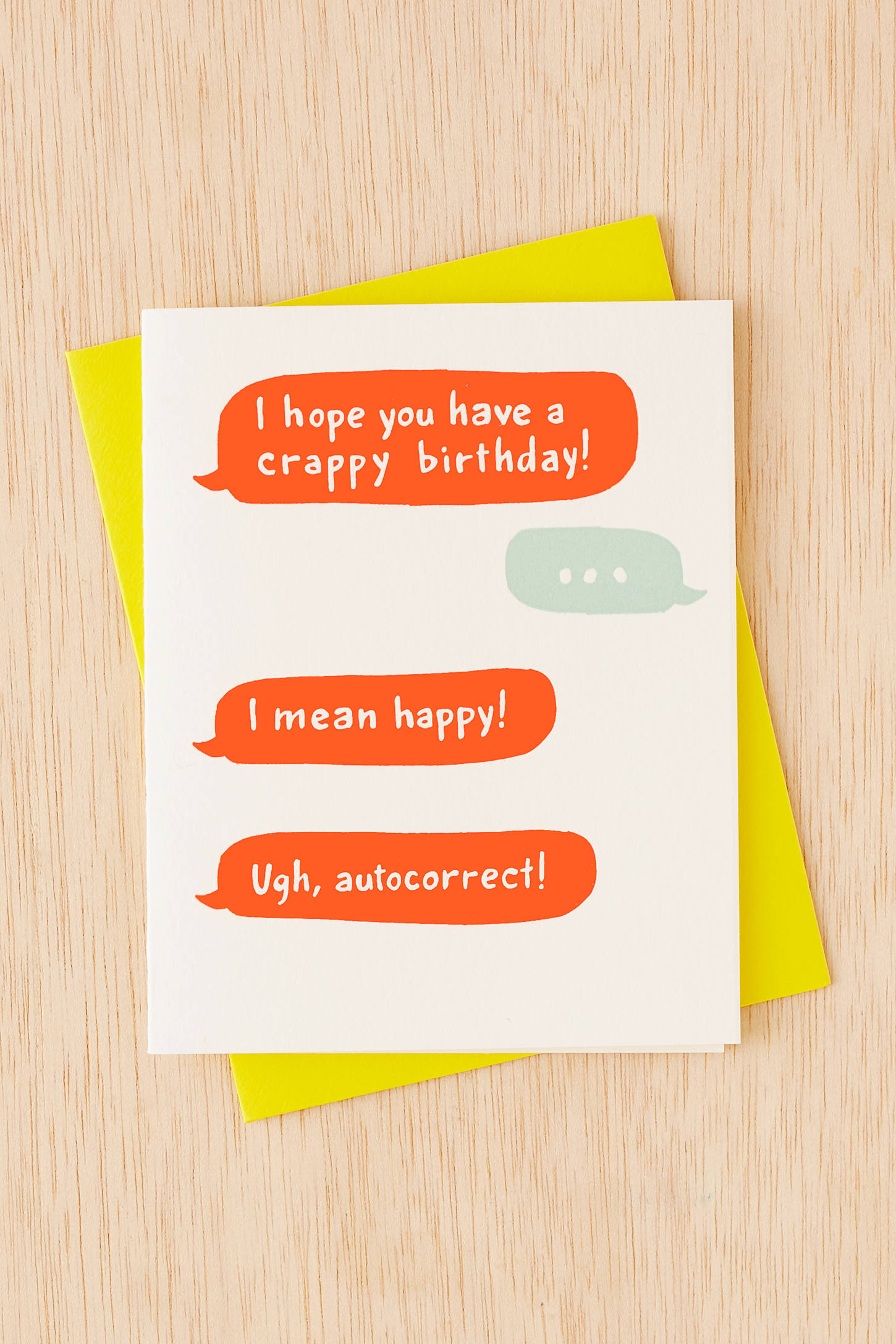 Ladyfingers Letterpress Birthday Cards Funny Greeting Cards – Urban Birthday Cards