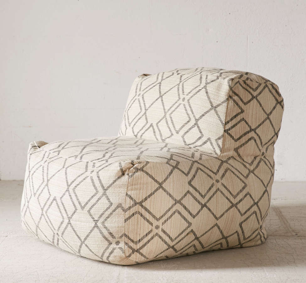Slide View: 3: Bobo Patterned Lounge Chair