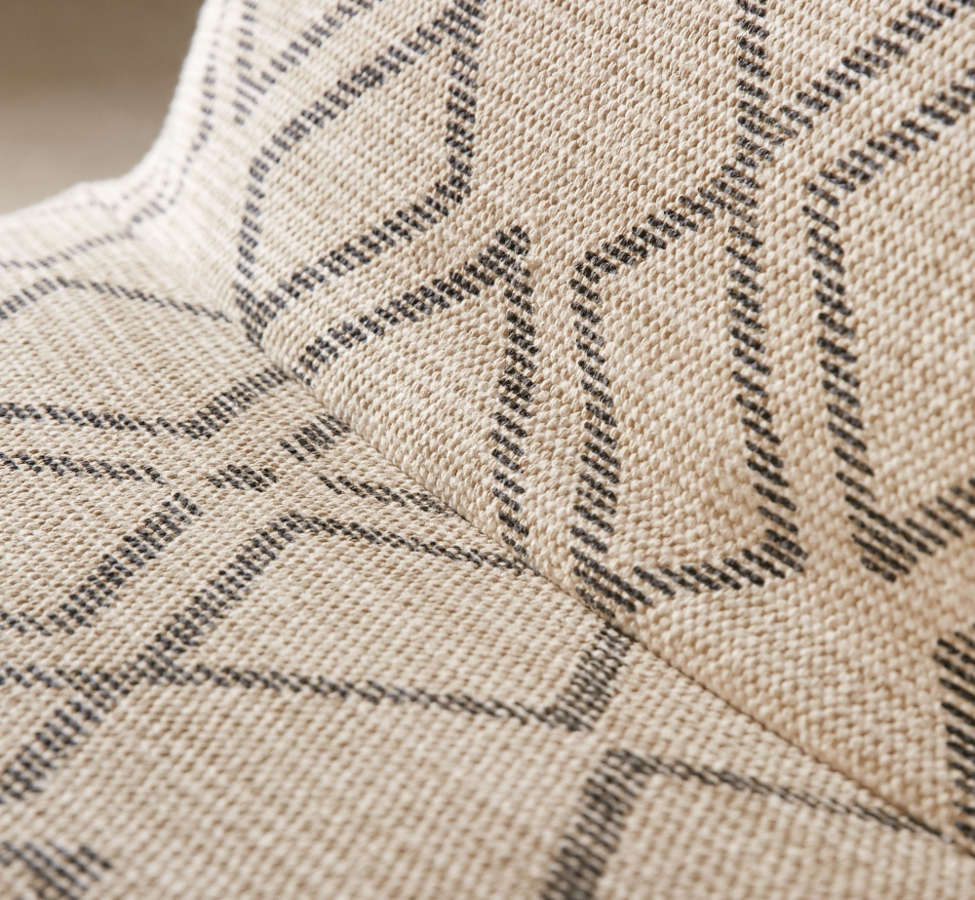 Slide View: 5: Bobo Patterned Lounge Chair