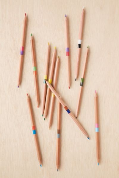 DoubleEnded Coloring Pencils Set Urban Outfitters