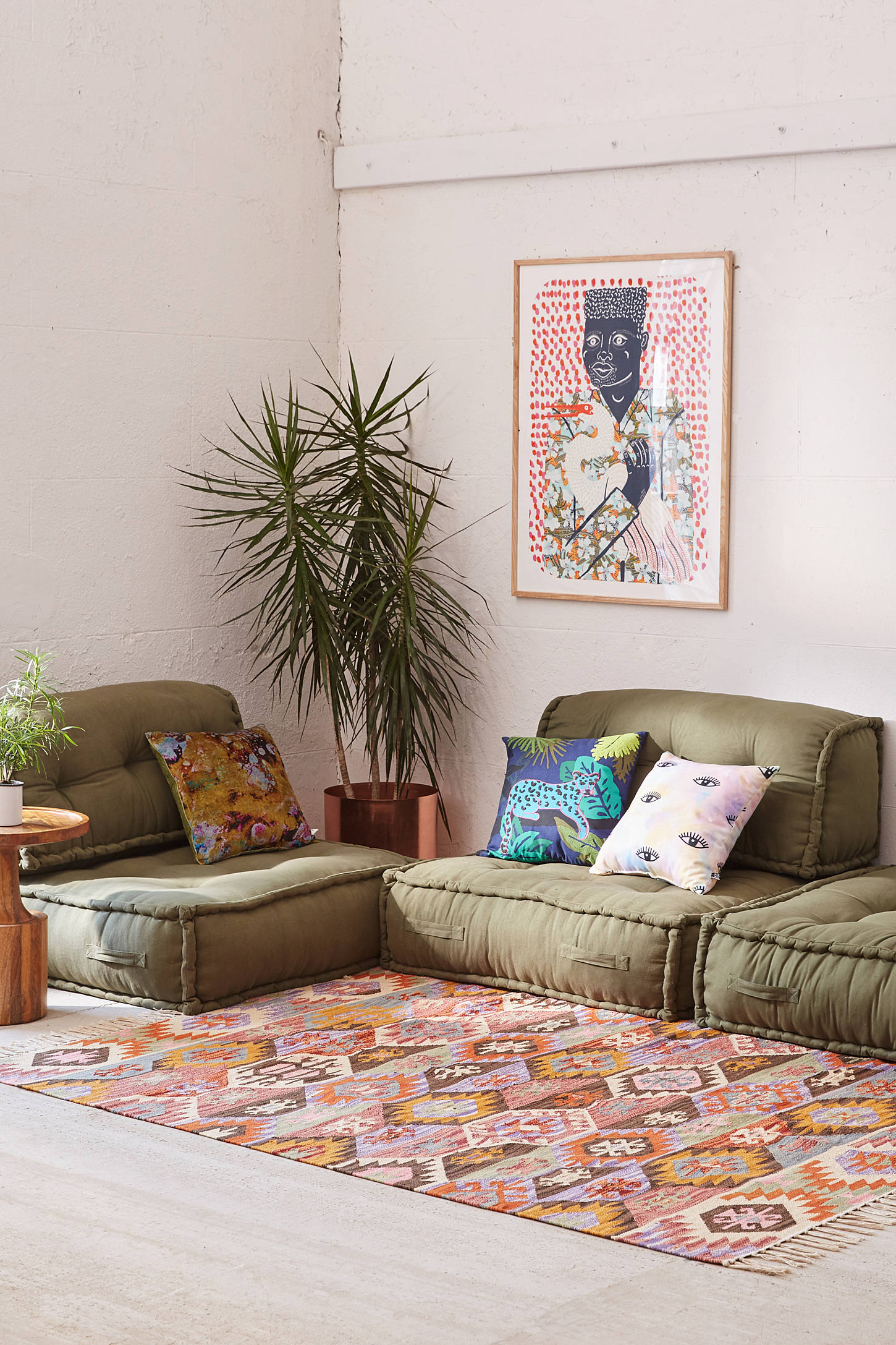 Floor Pillows With Backs : Reema Floor Cushion Urban Outfitters