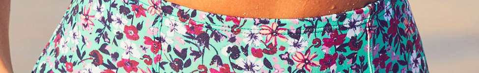 Thumbnail View 4: Out From Under Floral Printed Flat High-Waisted Bikini Bottom