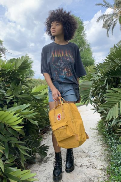 Fjallraven Kanken Backpack - Yellow One Size at Urban Outfitters