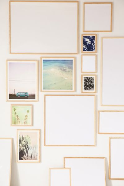 Natural Wood Art Print Frame Urban Outfitters
