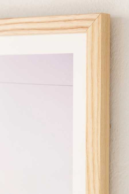 Slide View: 2: Natural Wood Art Print Frame