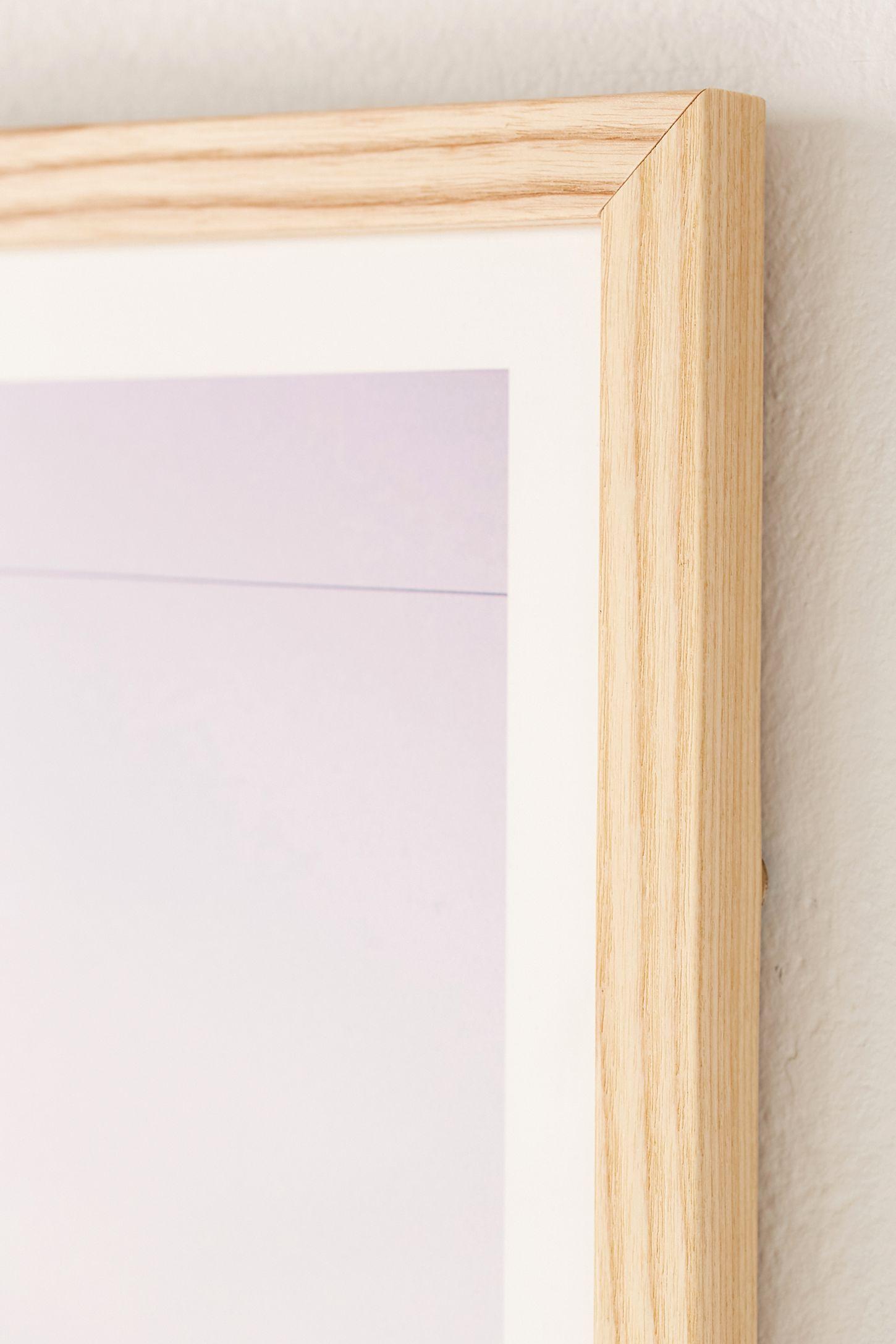 slide view 2 natural wood art print frame - Natural Wood Frame