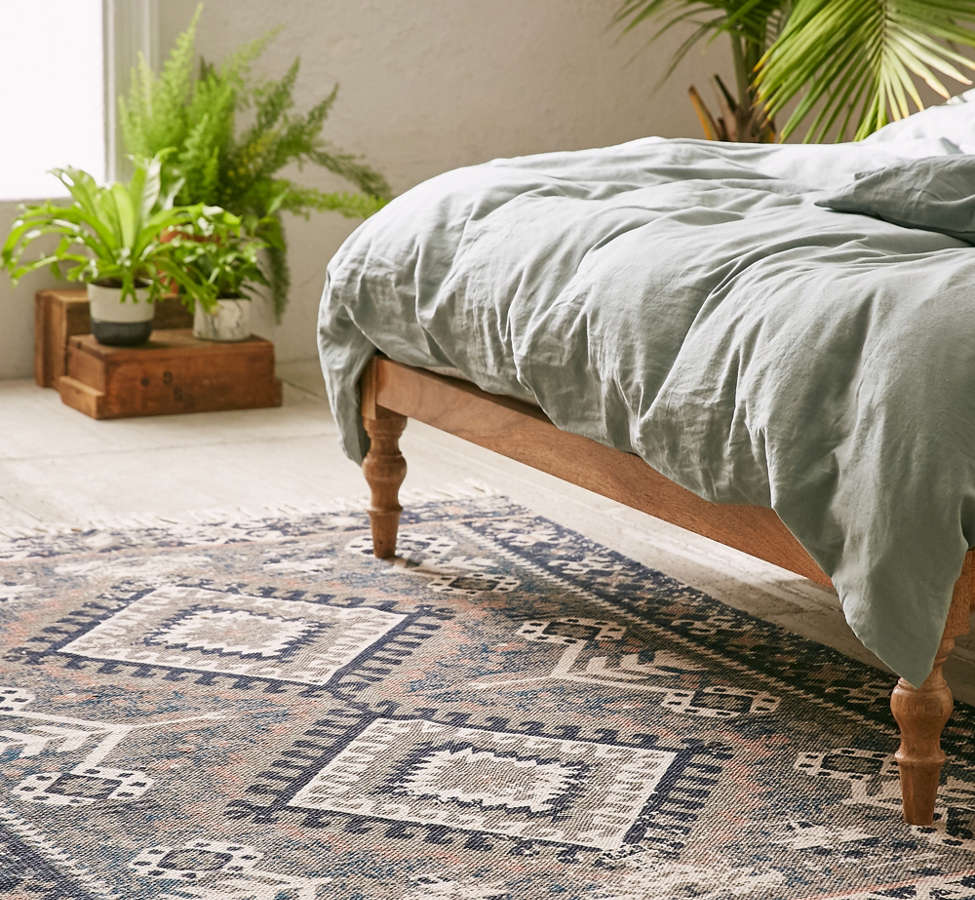 Slide View: 1: Hana Kilim Printed Rug