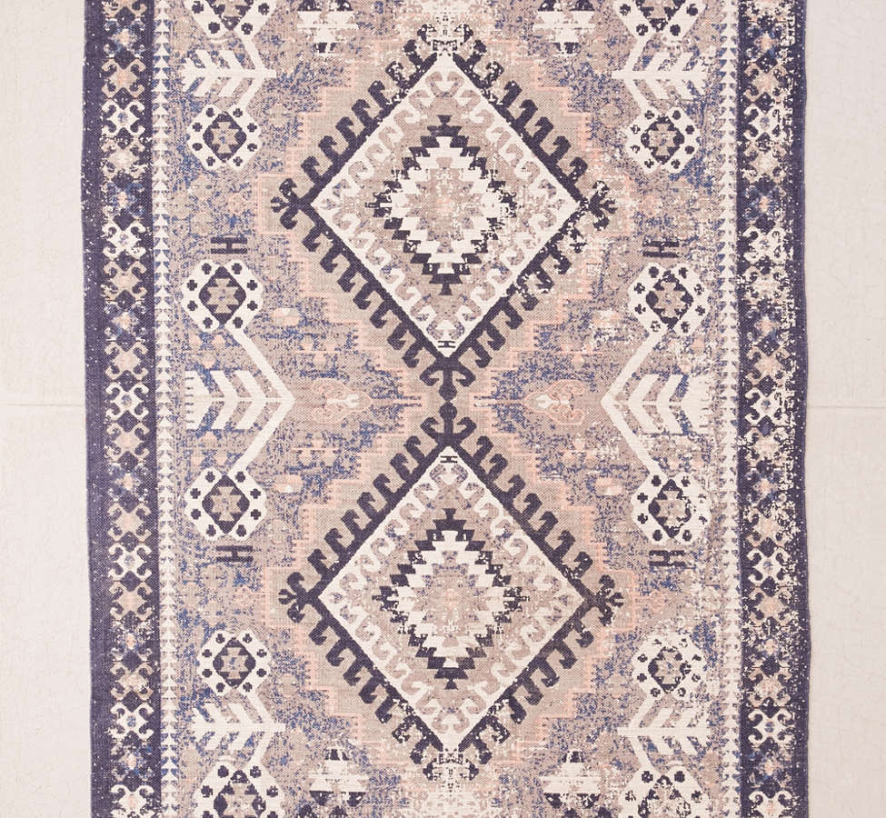 Slide View: 2: Hana Kilim Printed Rug