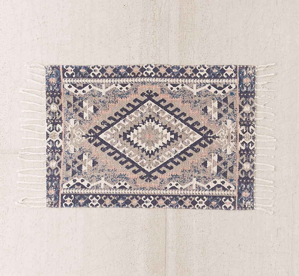 Slide View: 4: Hana Kilim Printed Rug