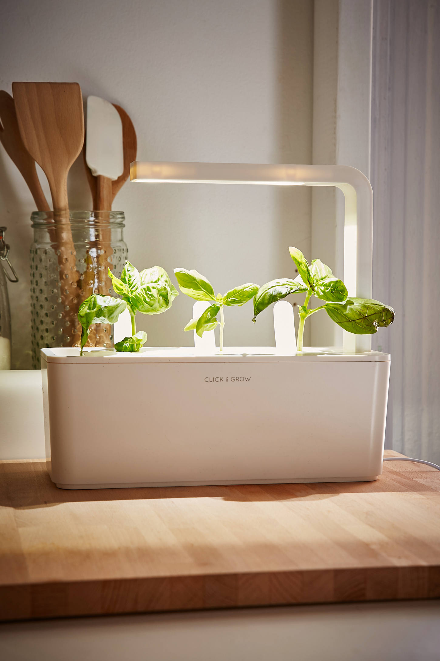 Kitchen Herb Garden Kit Click Grow Smart Herb Garden Starter Kit Urban Outfitters