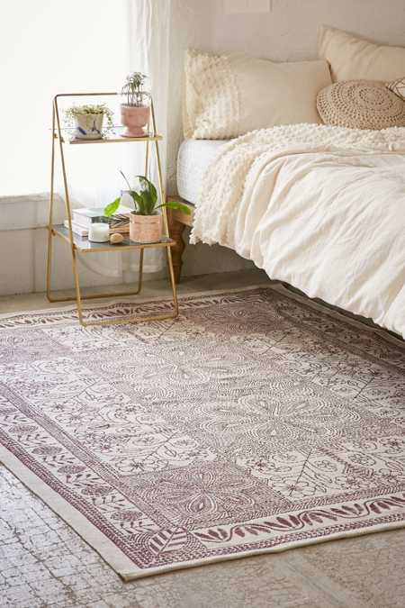 Margarita Stitch Mark Printed Rug