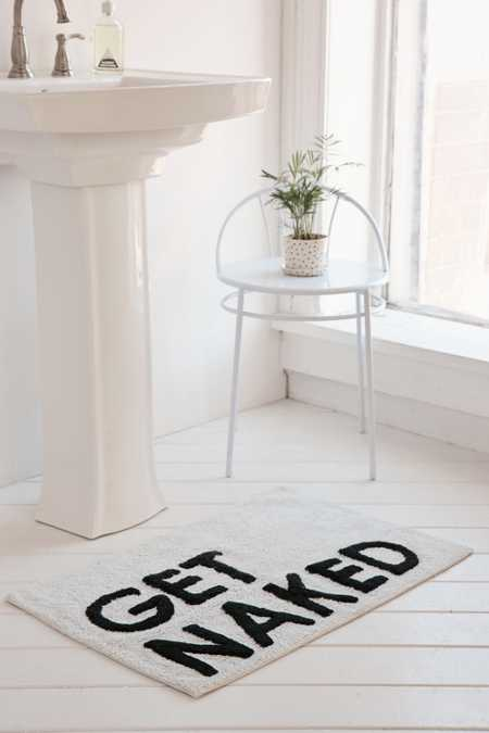 Get Naked Bath Mat. Bathroom D cor   Shower Accessories   Urban Outfitters