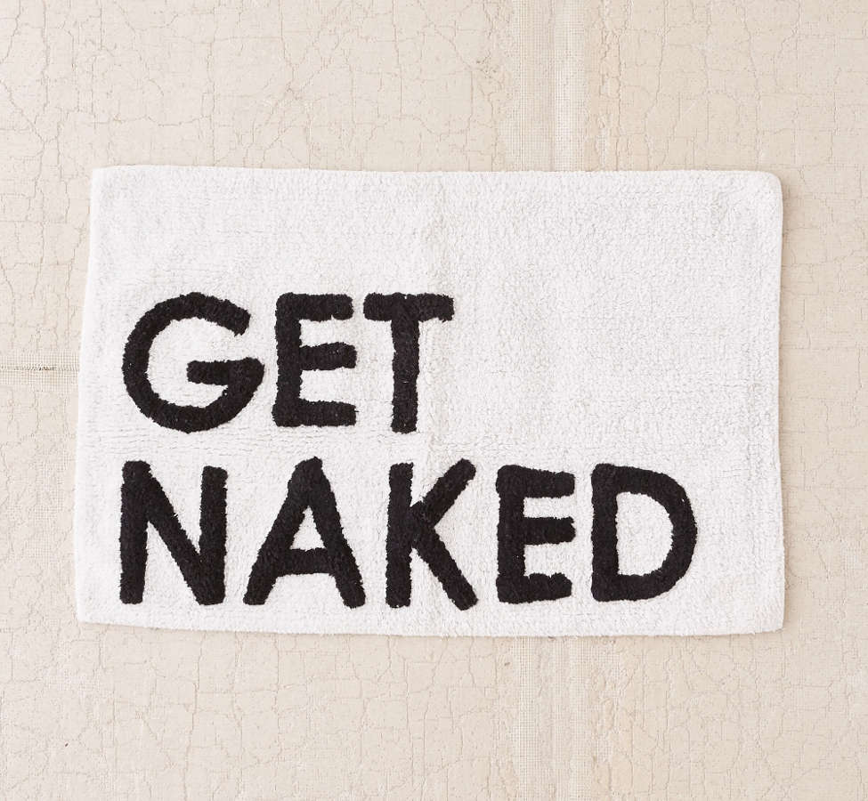 Slide View: 2: Get Naked Bath Mat