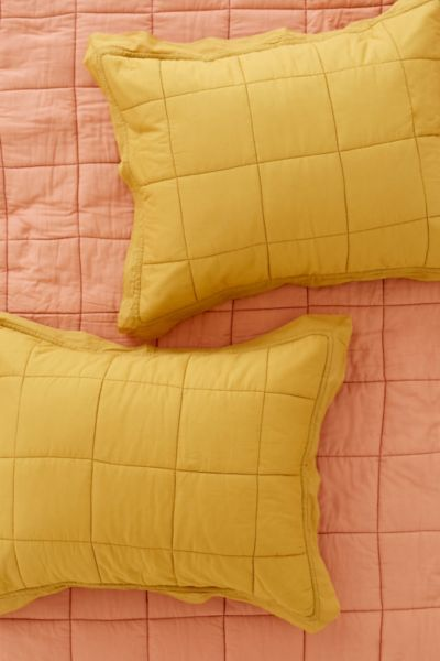 Clemente Two-Toned Sham Set
