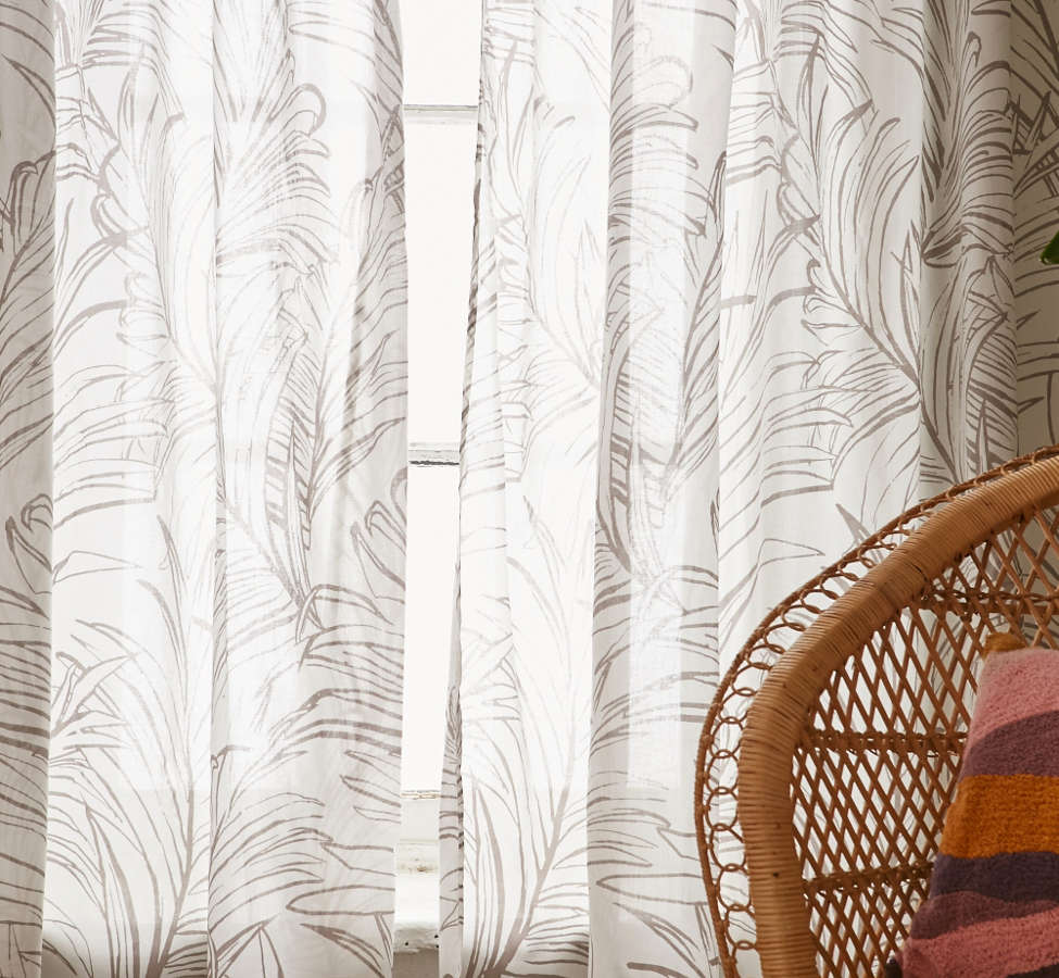 Slide View: 2: Edna Palm Curtain