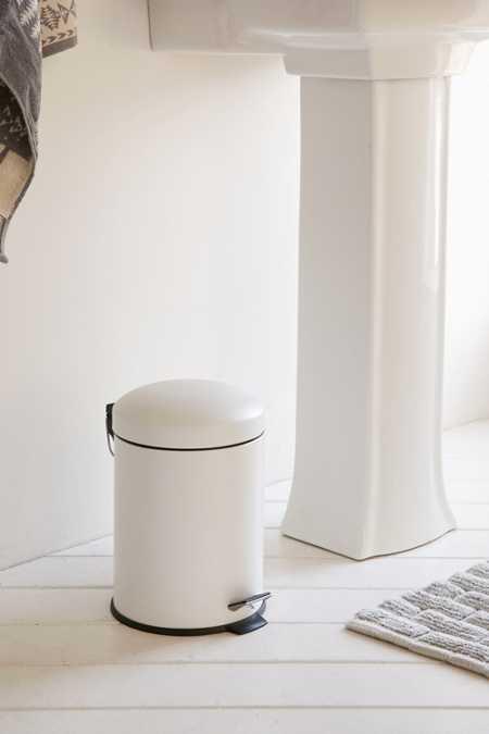 BINO Mini Trash Can. Mint   Bathroom D cor   Shower Accessories   Urban Outfitters