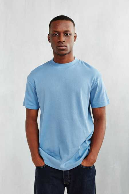 CPO Ribbed Mock Neck Tee