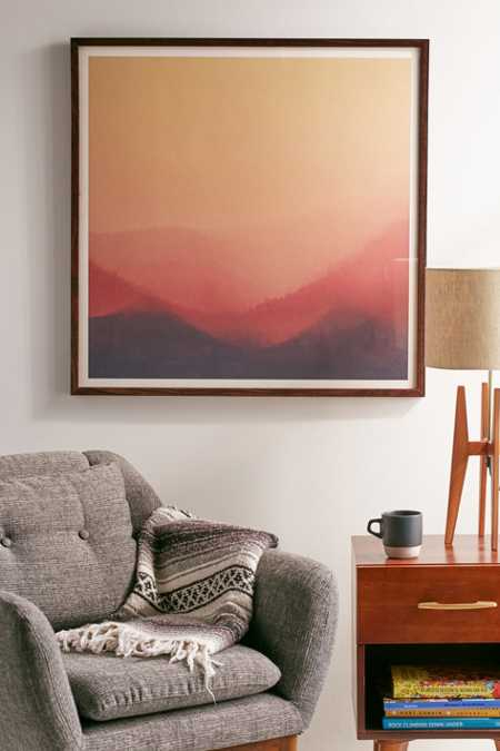 Hallwood Sunset Fog Art Print