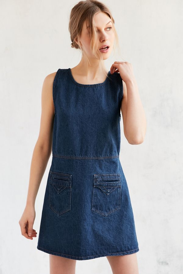 Slide View 4 Objects Without Meaning For Uo Denim Mini Dress