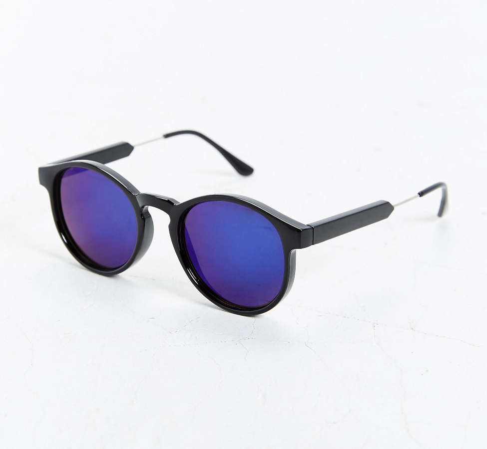 Slide View: 3: Heavy Round Sunglasses