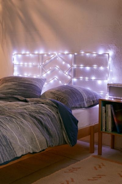 Mod String Lights - White One Size at Urban Outfitters