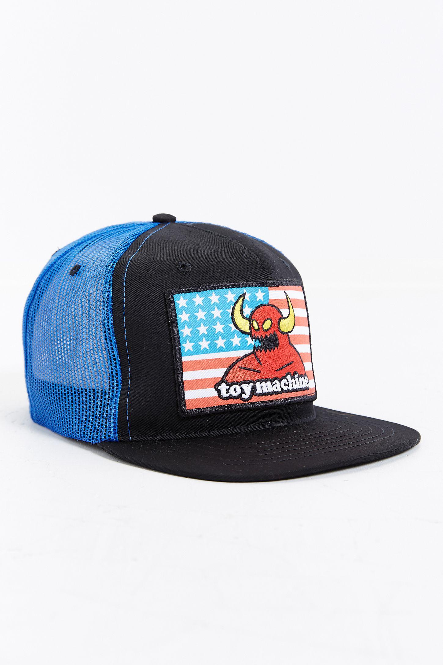 Toy Machine American Monster Trucker Hat  68de2bcdd6f