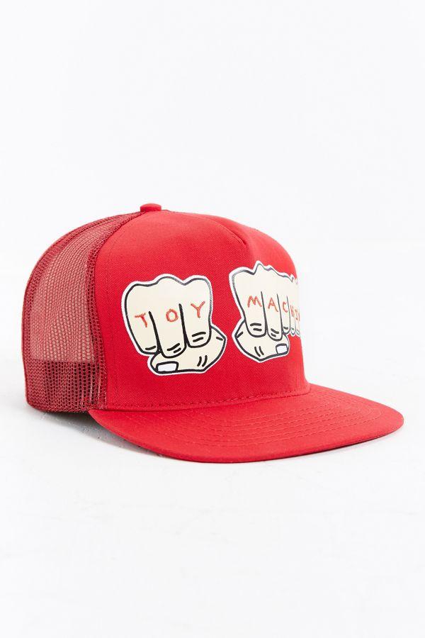 Toy Machine Fists Trucker Hat  d766aa426bb