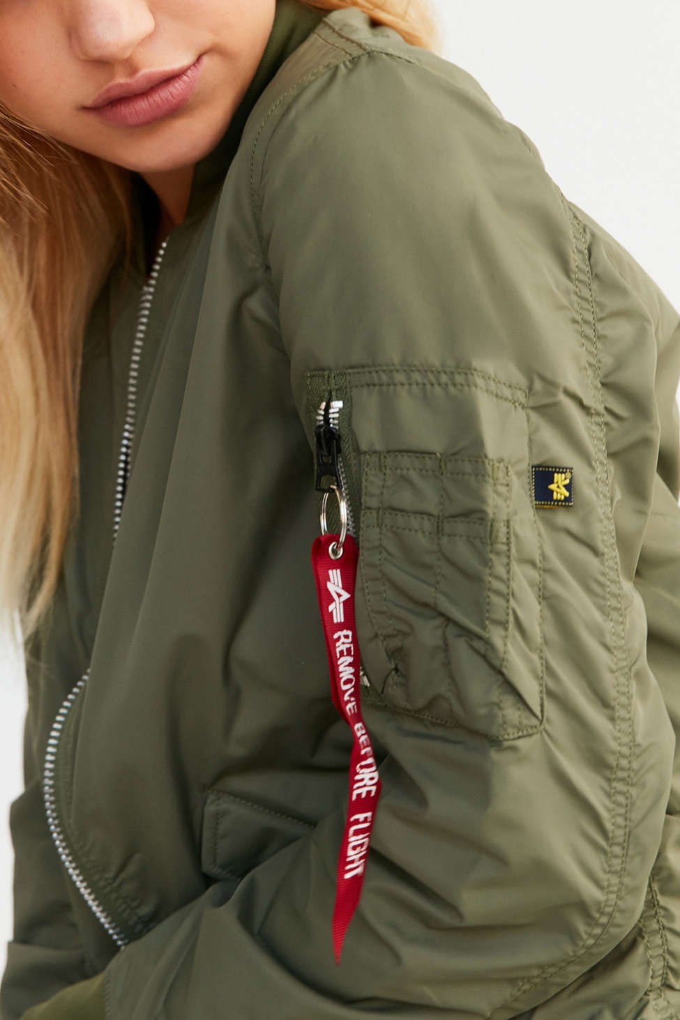 Alpha Industries L2B Flight Jacket | Urban Outfitters