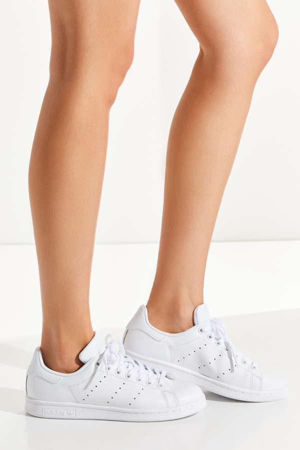Adidas adidas Originals Triple White Stan Smith Trainers Asos