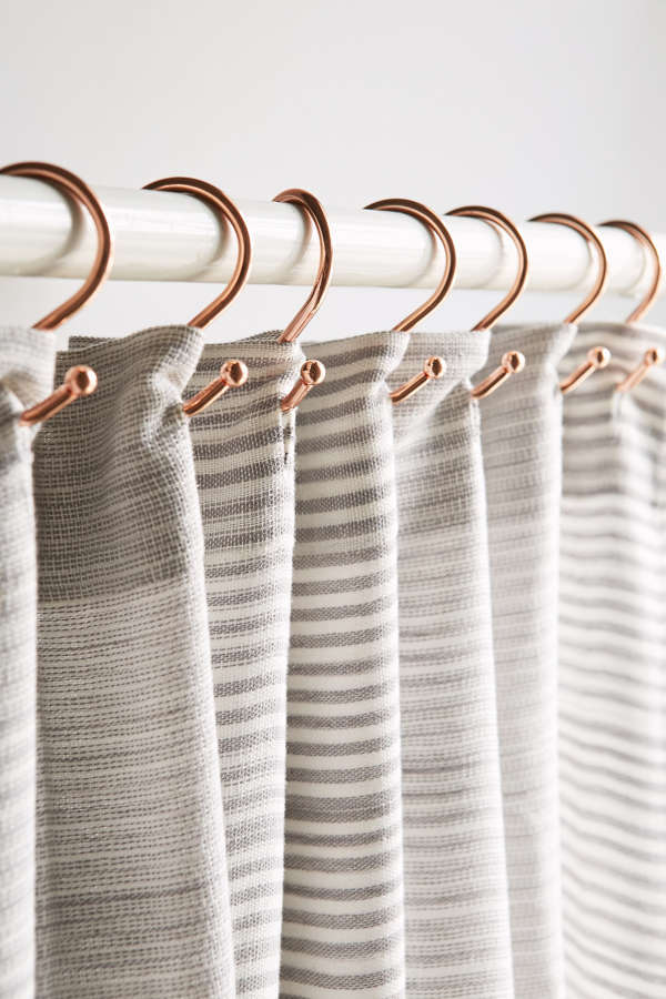 Copper Shower Curtain Hooks Set Urban Outfitters