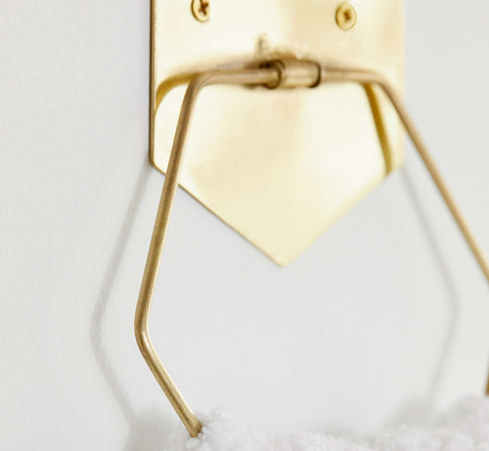 Slide View: 3: Hexagon Towel Ring