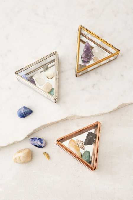 Triangle Glass Box