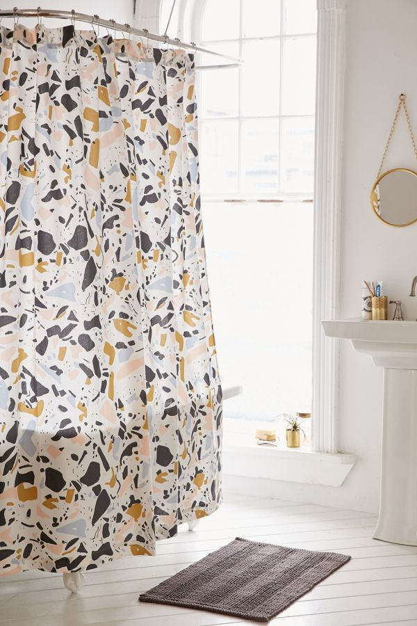 Your Urban Outfitters Gallery Killian Terrazzo Shower Curtain
