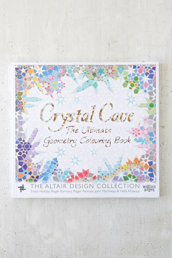 Crystal Cave: The Ultimate Geometric Coloring Book By Ensor Holiday ...