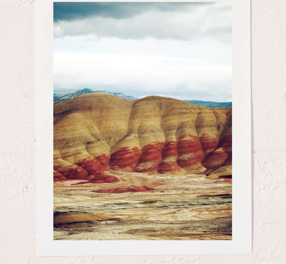 Slide View: 1: Kevin Russ Painted Hills Art Print