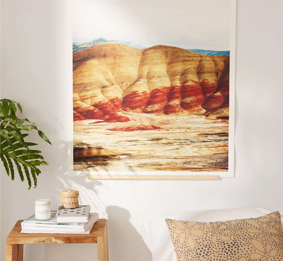 Slide View: 2: Kevin Russ Painted Hills Art Print