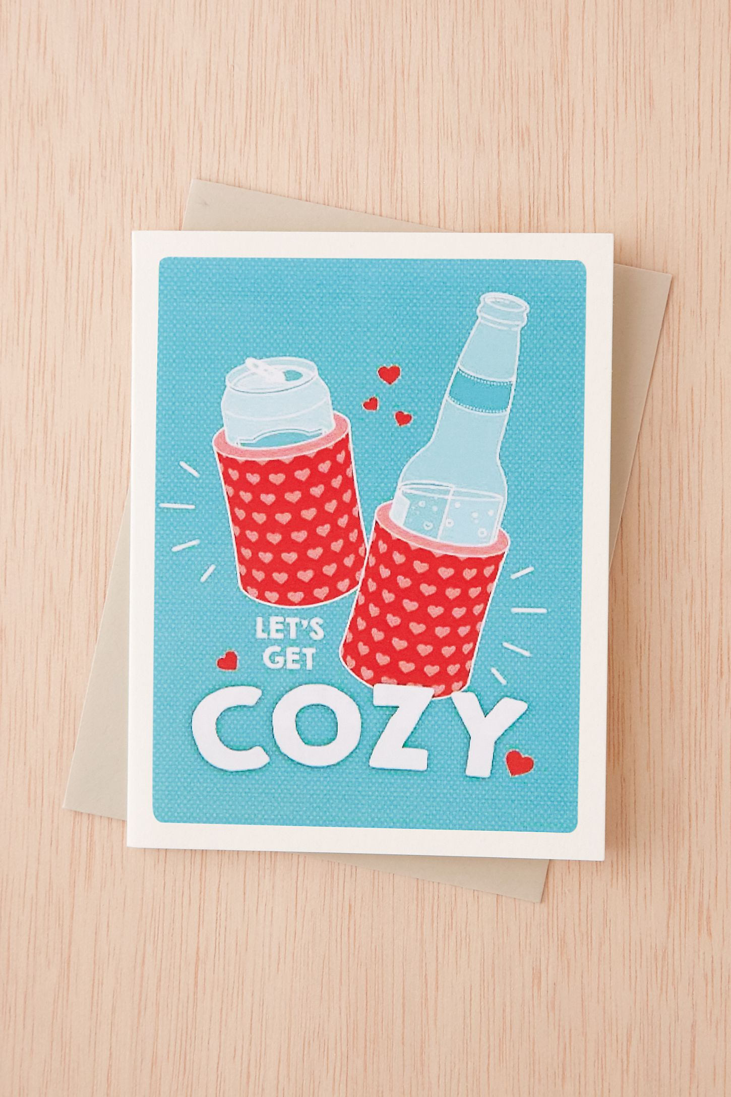 Seltzer Cozy Card Urban Outfitters
