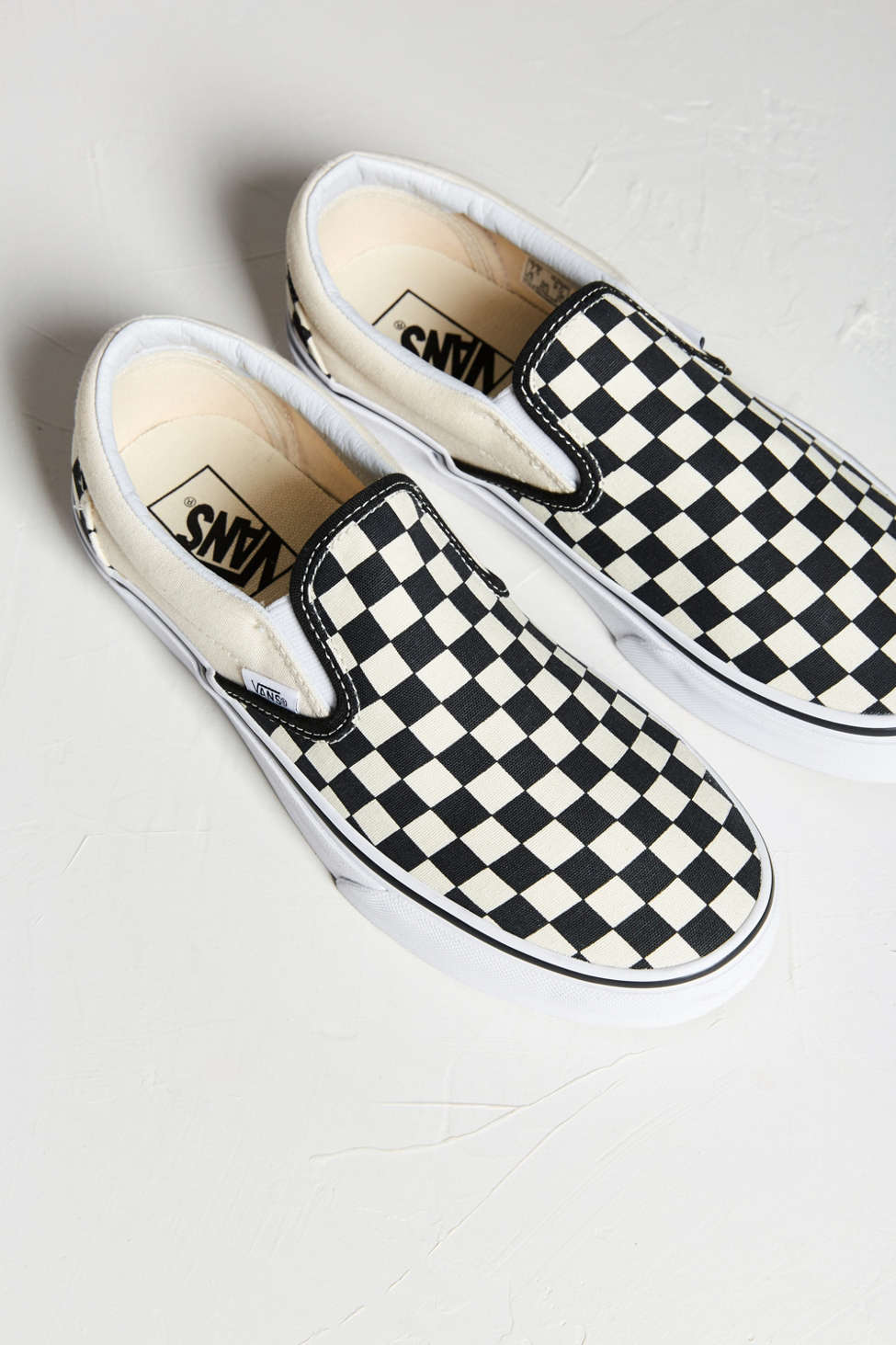 Slide View: 2: Vans Checkerboard Slip-On Sneaker