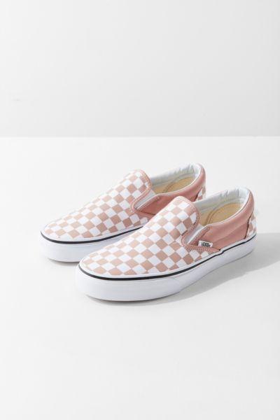 Vans Checkerboard Slip On Sneaker Urban Outfitters
