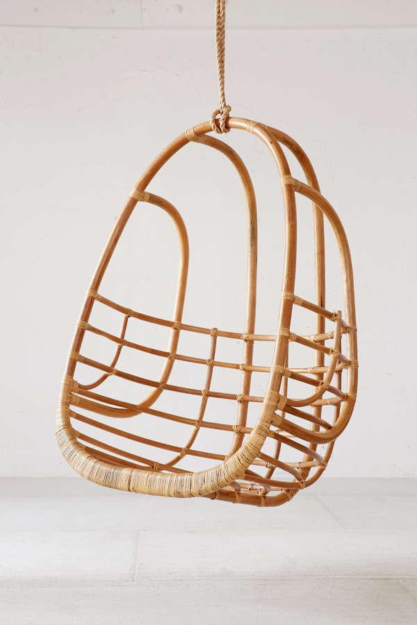 Slide View: 3: Tenley Rattan Swing Chair